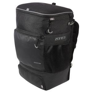 Zone3 Transition Backpack mit Fahrradhelm-Fach - schwarz