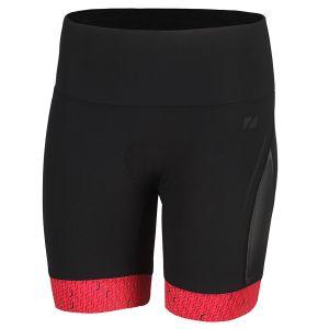 Performance Tri Shorts Damen - Zone3 - schwarz/coral