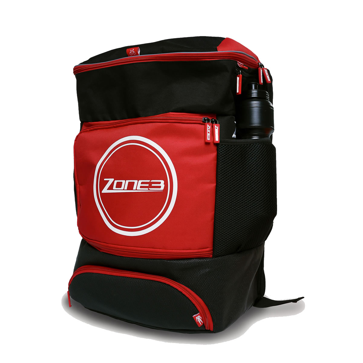 Transition Backpack - Zone3 - schwarz/rot