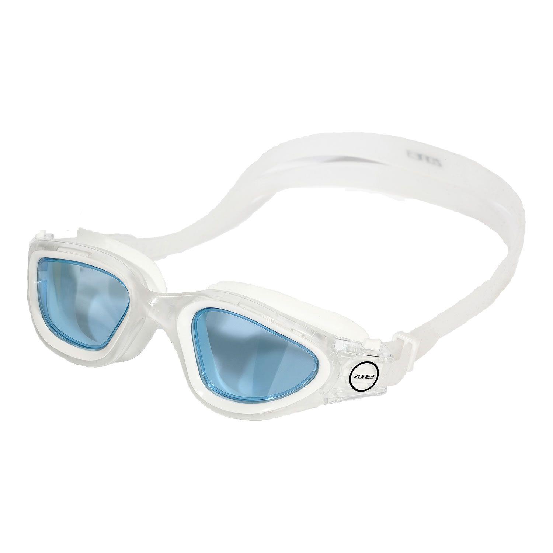 Zone3 Vapour Schwimmbrille - weiß/blau
