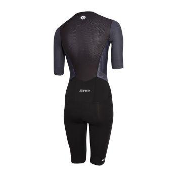 Zone3 Aeroforce X Tri Suit Damen - schwarz/grau