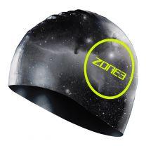 Silikon Schwimmkappe - unisex - Zone3 - cosmic print