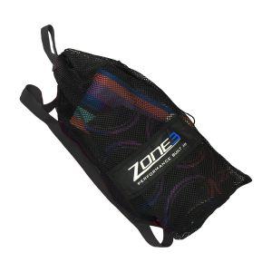 Mesh Schwimm-/ Triathlontasche - Zone3 - schwarz/blau