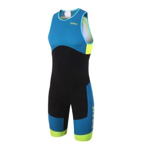 Aeroforce SUB 220 backzip Tri Suit Herren - Zone3 - schwarz/petrol