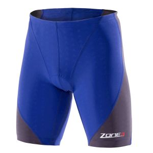Aquaflo Triathlon Shorts Herren - Zone3 - blau/grau