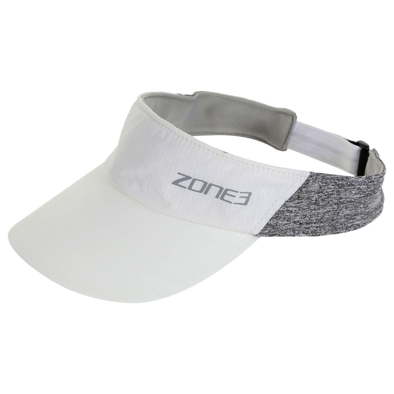 Lightweight Race Visor - Zone3 - weiß/grau