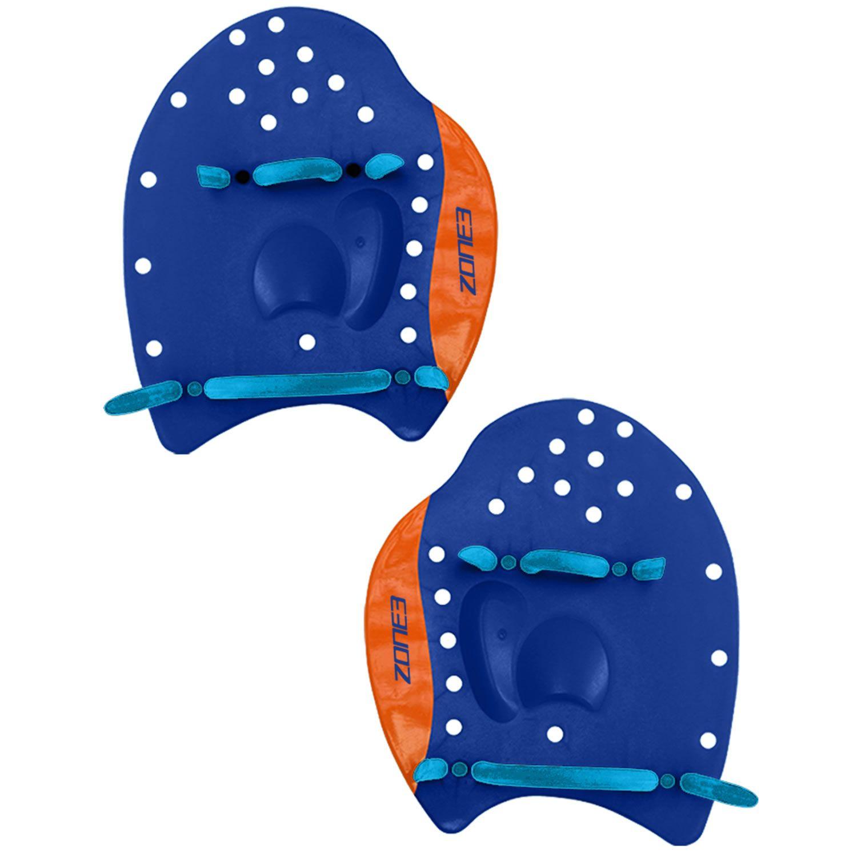 Power Stroke Hand Paddles - Zone3 - navy/orange