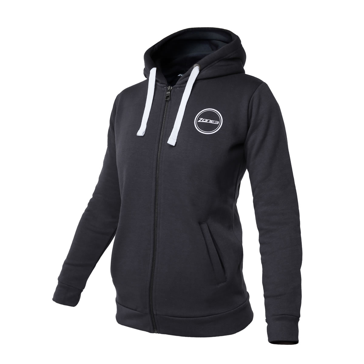 Charcoal Plush Cotton Hoodie Herren - Zone 3 - zm16599